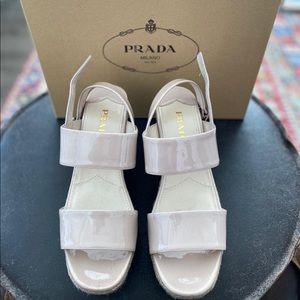 Prada Calzature Donna Wedge heels, size 38